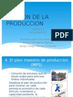 Gestion de La Produccion Plan Maestro