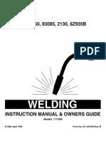 117-050 Owner's Manual