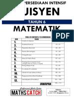 Nota Tuisyen Maths Tahun 6