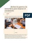 Perú Le Declara La Guerra a La Burocracia Para Mejorar El Crecimiento