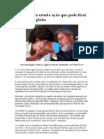 Procuradora estuda ação que pode tirar Dilma do pleito