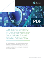 A Multidimensional View of Critical Web Application Security Risks