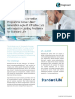 Strategic IT Transformation Programme Delivers Next-Generation Agile IT Infrastructure with Industry-Leading Resilience for Standard Life