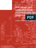 Christopher Cullen Astronomy and Mathematics in Ancient China- The 'Zhou Bi Suan Jing' (Needham Research Institute Studies).pdf