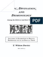 Magic, Divination and Demonology