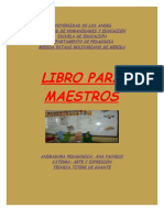 Libro Para Maestros Arte