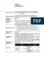 Ficha Técnica Detallada