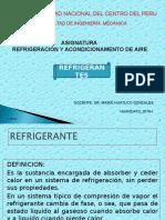 Clase 2. Refrigerantes.