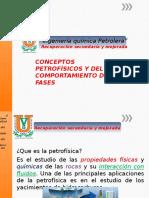 Unidad 2 Conceptos Petrofisicos y Del Comportamiento de Fases