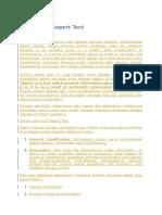 Pengertian Report Text