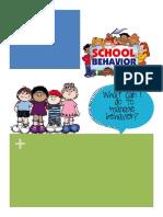 behavior book project