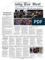 The Daily Tar Heel for April 5, 2017