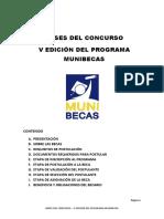 Bases Munibecas v Edicion 2016