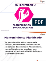 3701- Planeacion y Programacion