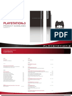 PS3 Playstation 3 product guidelines