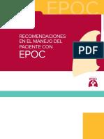Recomendaciones en El Manejo Del Paciente Con EPOC