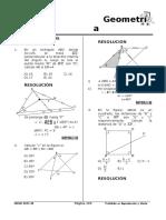 Geometria. Congruencia de Triangulos
