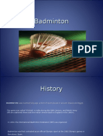 Badminton Study Guide
