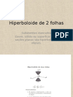 Hiperboloide de 2 Folhas