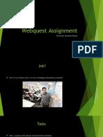 education 215-webquest
