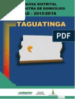 Pdad Taguatinga 2015 2016