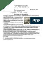 FLUÍDOS COMPRENSIÓN DE TEXTO FÍSICA 5° SEC 01.09.16
