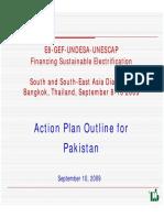 Pakistan Power Plan Outline GOOD