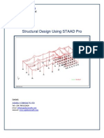 note staad propdf Truss Beam Structure