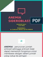 Referat Anemia Sideroblastik