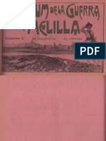 El Album de La Guerra de Melilla Cuaderno 5