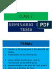 Seminario Clase 7