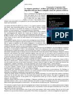 Identidad Chilena Texto Mestizaje Adn