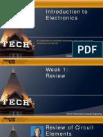 Introduccion a la Electronica Semana 1