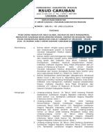 Sk Penetapan Indikator Klinis Manajemen Skp