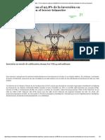 Chile Desarrollo Sustentable » Tres Sectores Explican El 92,8% de La Inversión en Trámite Ambiental en El Tercer Trimestre
