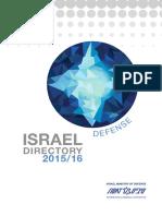 Israeli Defense Directory 2015_16