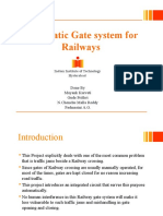 Automatic Gate System for Railway
