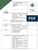 8.1.2 EP 2 SOP Permintaan Pemeriksa Penerima Spesimen Pengambilan Dan Penyiapan Spesimen
