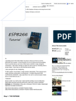 ESP8266 Wi Fi Module Explain and Connection - All