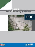 Water Retaining Conc Repair