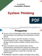 01 System Thinking (2016)