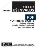 Esenvalds - Northern Lights