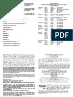 notice sheet 9th april 2017