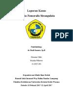 Laporan Kasus Hernia Femoralis Strangulata