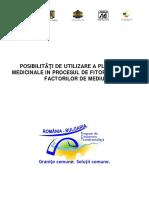 Brosura-Posibilitati de Utilizare a Plantelor Medicinale in Procesul de Fitoremediere a Factorilor de Mediu