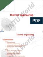 Thermal Engineering I