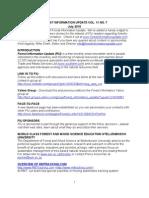 Forest Information Update Vol 11 No 7