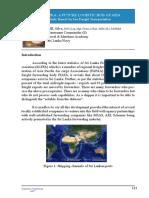 Paper by Lieutenant Commander (S) FHL Silva ' Sri Lanka a Future Logistic Hub of Asia'
