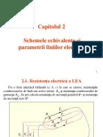 S5-S6. Cap 2. Parametrii Liniilor Electrice