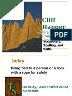 Cliff Hanger Power Point 3